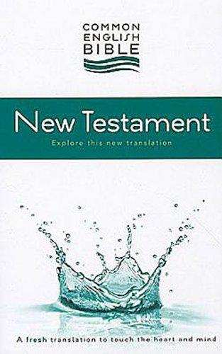 CEB Common English Bible New Testament, Softcover, Common English Bible