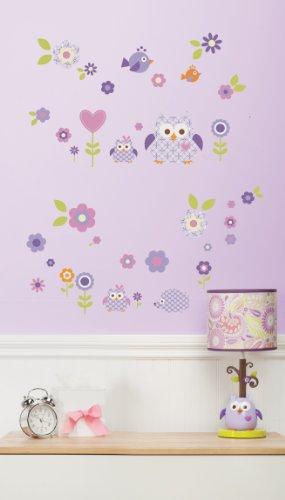 Dena Wall Decal, Owl Blossom