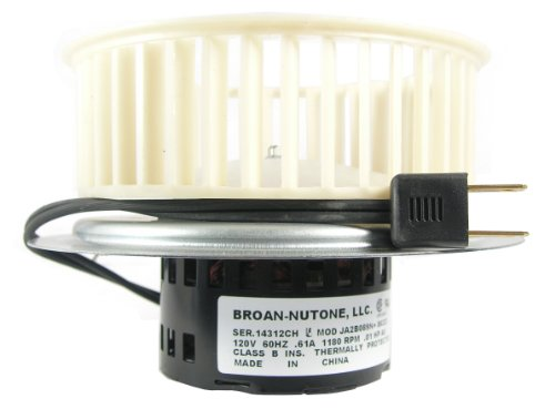 NuTone 0695B000 Motor Assembly for QT80 Series Fans (Nutone Ja2c118h compare prices)