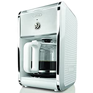 Bella Coffee Maker Carafe Replacement : Amazon.com: BELLA 13659 Dots Collection 12-Cup Coffee Maker, White: Drip Coffeemakers: Kitchen ...