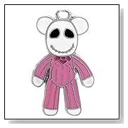 Jack Skellington Pajama Bear Charm