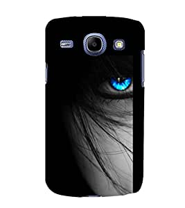 printtech Girl Eyes Blue Back Case Cover for Samsung Galaxy On7