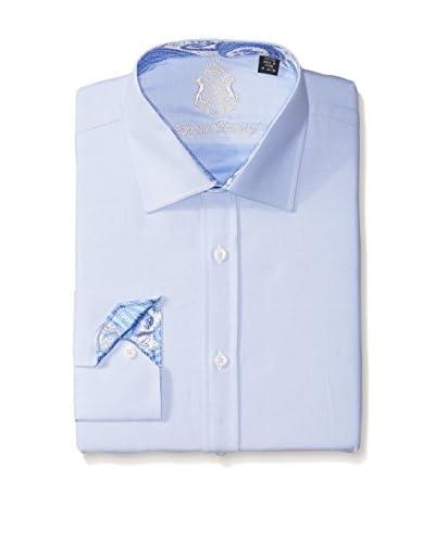 English Laundry Men's Solid Dress Shirt