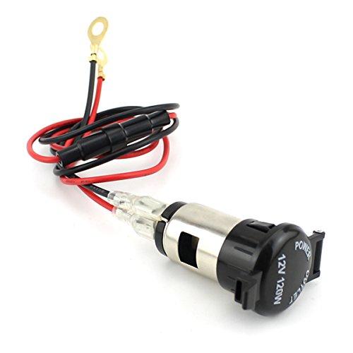 LEORX-Caricabatteria-da-auto-USB-impermeabile-12V-120W-auto-moto-accendisigari-femmina-presa