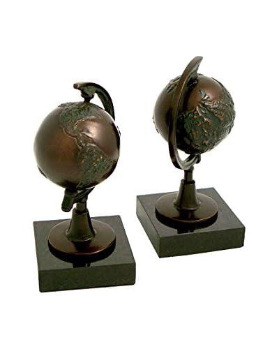 Bey-Berk Bookend, Bronze/Black