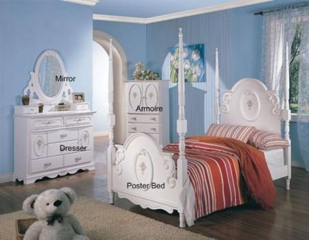 Cheap Sariah 7-Piece Kids Poster Bedroom Set (B005LWPIHC)