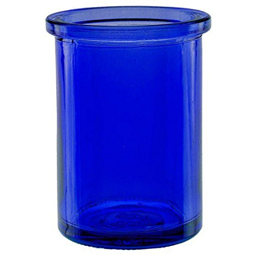 Bluecorn Naturals 50% Recycled Glass Candle Holder (2 ¼