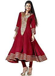 Fashion Galleria red fency cotton kurti