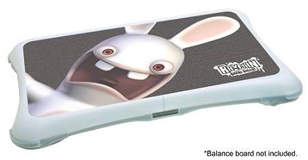 Wii Fit Rayman Raving Rabbids Cover - Big Rabbid