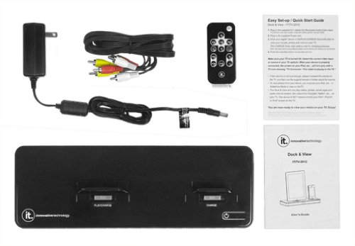 Innovative Technology ITITV-2012 The Ultimate Home Entertainment Docking Station for iPad,iPod, iPhone