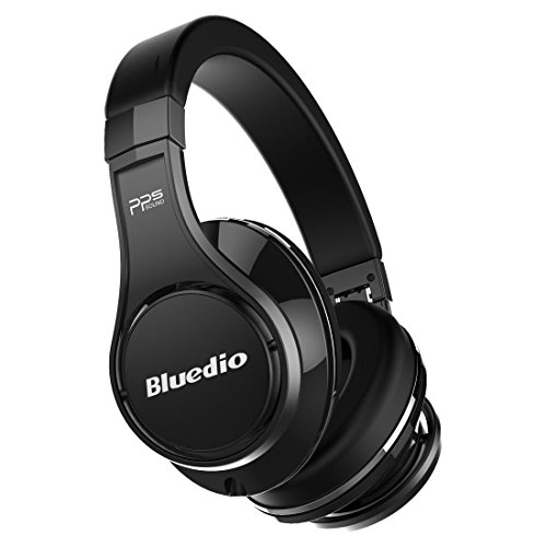 Bluedio U (UFO) PPS 8 Drivers Over-ear Bluetooth Wireless Headphone with Mic(Black) (Cool Stuff On Tv compare prices)