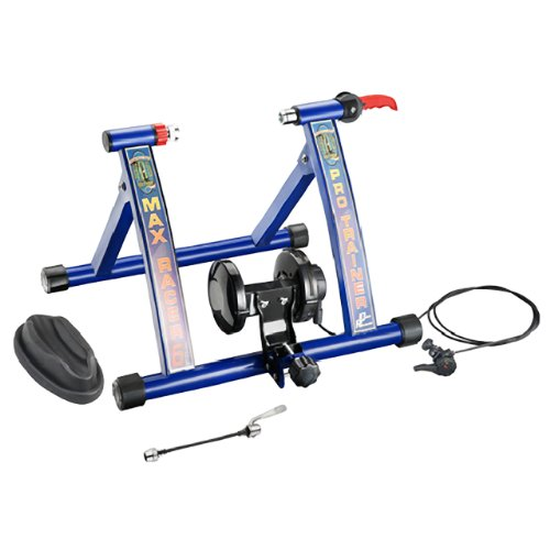 RAD Cycle Products Max Racer PRO 7 Levels of Resistance Portable Bicycle Trainer Work Out Machine