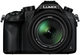 Panasonic Lumix DMC-FZ1000 4K QFHD/HD 16X Long Zoom Digital Camera (Black)