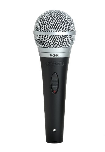 Shure PG48-XLR Cardioid Dynamic Vocal Microphone
