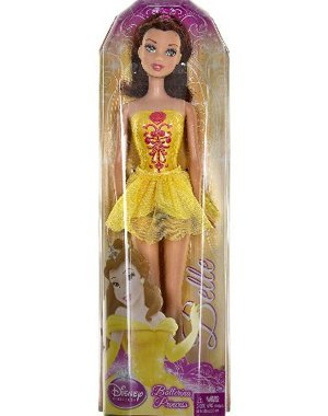 Buy Low Price Mattel Disney Princess Ballerina Princess -Belle Figure (B0037JIRII)