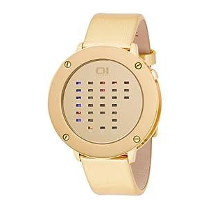 Binary THE ONE IRR315RB1 - Reloj para niños de cuarzo, correa de piel