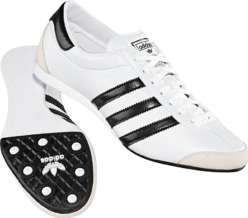 adidas aditrack w womens shoes in white black white size 7