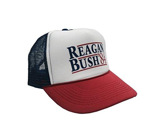 P&B Reagan Bush '84 Campaign Adjustable Unisex Adult-one size Hat Cap (Bush Campaign compare prices)