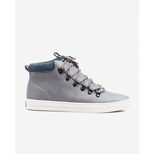 Clae Grant sneakers uomo Charcoal Leather - 42, Charcoal
