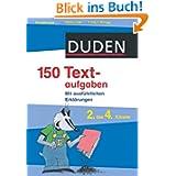Duden - 150 Textaufgaben 2. bis 4. Klasse