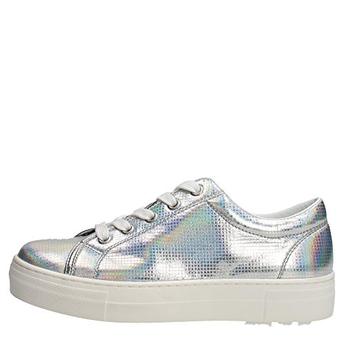 Cult CLJ101574 Sneakers Donna Pelle Argento Argento 36