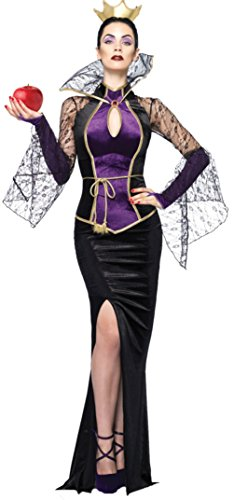 Leg Avenue Womens Princesses Evil Queen Disney Theme Party Halloween Costume