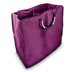 Cesto para colada cesto para ropa sucia con dos c maras y - Cesto ropa sucia amazon ...