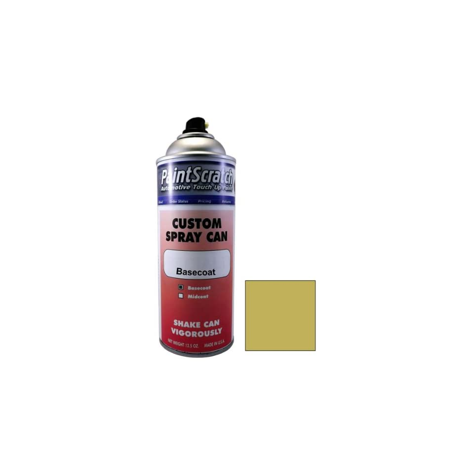 12.5 Oz. Spray Can of Medium Suede Metallic Touch Up Paint for 1988 Dodge Ram Pickup (color code GK4/DT6633) and Clearcoat