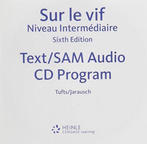 SAM Audio Program for Tufts/Jarausch's Sur le vif: Niveau intermediaire, 6th