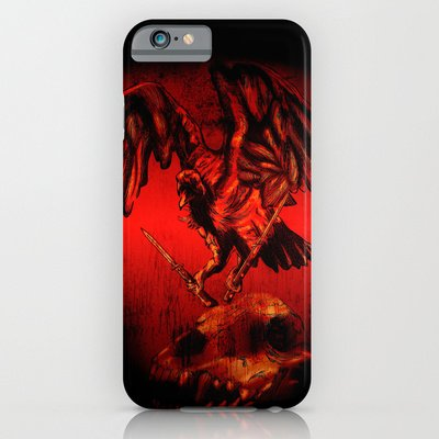 Society6 - Switchblade Vulture Iphone 6 Case By Frank Castro
