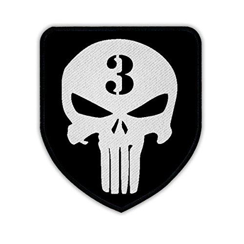 Patch/Logo-American Sniper Chris Kyle scharfschütze Navy Seal Team 3US Guerra in Iraq Seals Texas Held Veteran USA America Army teschio logo militare # 16357