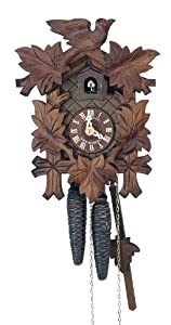 Black Forest Cuckoo Clock 8 Day Traditional Mechanical Cuckoo Clock by Schneider from Schneider