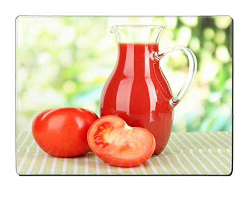 MSD Placemat IMAGE ID 19510790 Tomato juice in pitcher on table on bright background (Tomato Juice Pitcher compare prices)