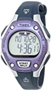 Timex Womens T5K410 Ironman Traditional Purple and Black