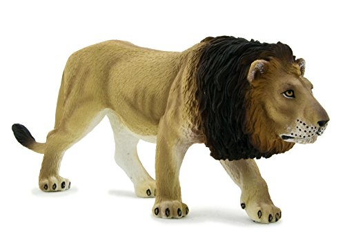 Mojo Fun 387004 Male Lion - Realistic International Wildlife Toy Replica - 1