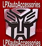 Transformers Autobot Car Chrome Badge Emblem 3D Logo