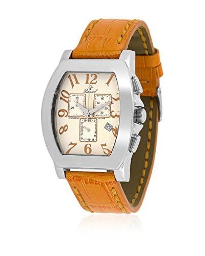 Bassel Reloj con movimiento cuarzo suizo 60115NA Naranja 40  mm