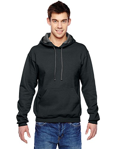 Fruit Of The Loom Men's Taping Waistband Sweatshirt, Black, XXX-Large (Medias Fruit Of The Loom Black compare prices)