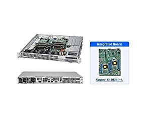 Supermicro SYS-6018R-MDR 1U Server wtih X10DRD-L Motherboard