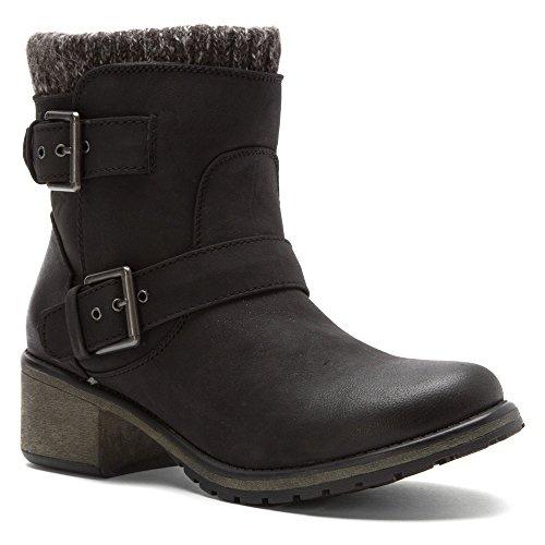 Roxy Women's Scout Winter Boot, Black, 10 M US