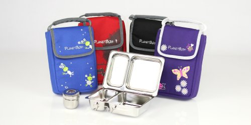 PlanetBox Shuttle Lunchbox - Complete Set (Basic Black)