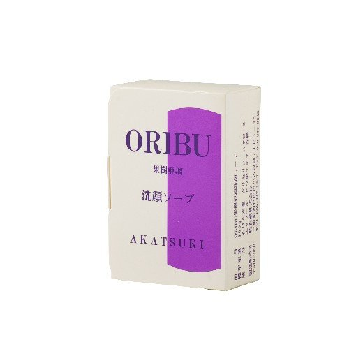 ORIBU オリブ果樹亜瑠 カジュアル 洗顔ソープ 100g