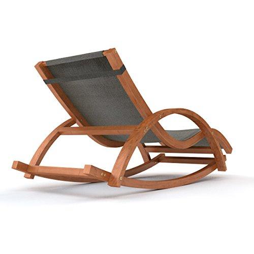 Sdraio alta qualit e sedia a dondolo un legno resistente - Cuscino per sedia a dondolo ...