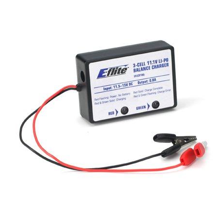 E-Flite LiPo Balancing Charger 3S 0.8A EFLC3105 - 1