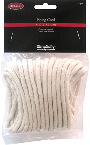 "Purchase Simplicity Deluxe 6/32"" Piping Cord 12yds"