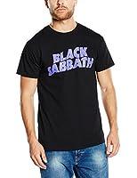 Black Sabbath - - Hommes de logo T-shirt en noir