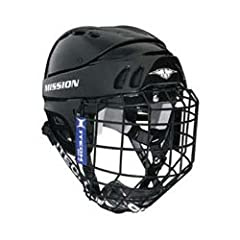 Mission Hockey 1505 Senior Hockey Helmet w Cage by Mission