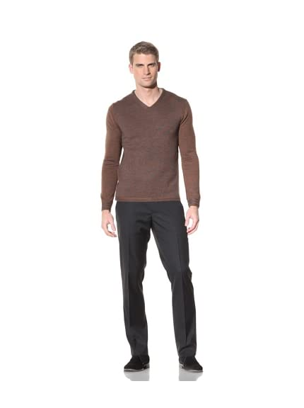 Elie Tahari Men's Fletcher Marled Wool Sweater
