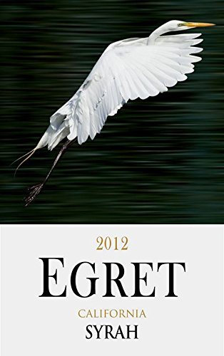 2012 Egret California Syrah 750 Ml
