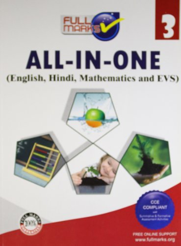 All-In-One (English,Hindi,Mathematics and EVS) Class 3